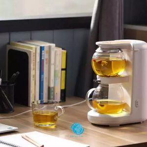 Máy pha trà nóng Mingzhan MZ-1151 trắng đơn giản