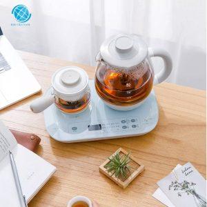 Máy pha trà đa chức năng Winnie vật liệu thủy tinh borosilicate cao cấp