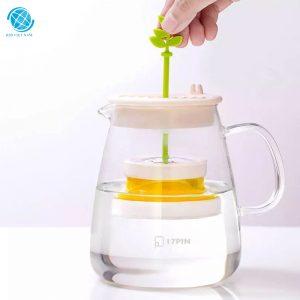 Bình pha trà thủy tinh chịu nhiệt cao