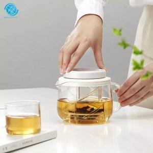 Bộ ấm trà Pride Pot White 500ml