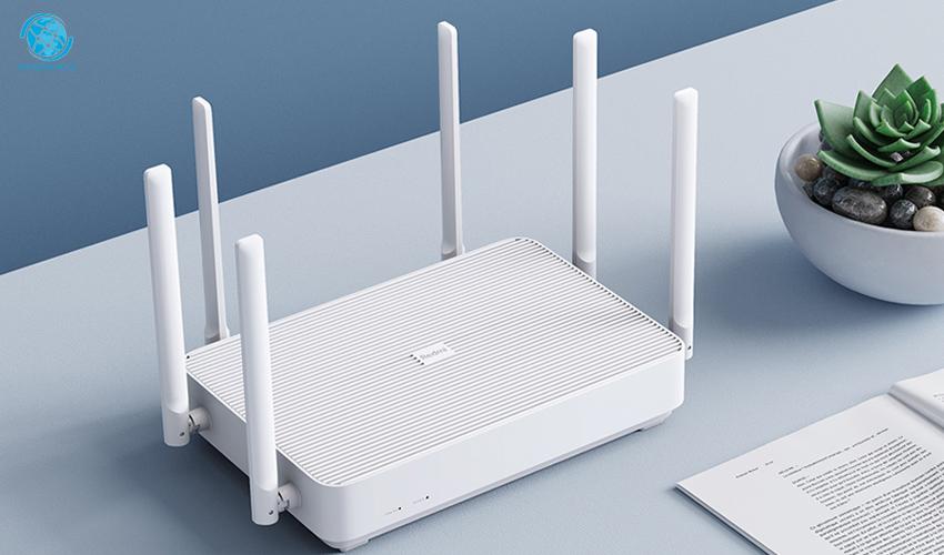 Router Xiaomi AIoT AC2350 trang bị 6 ăng-ten