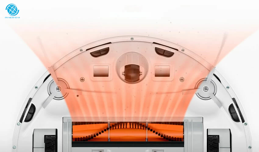 Robot hút bụi Xiaomi mop essential 4 mức công suất