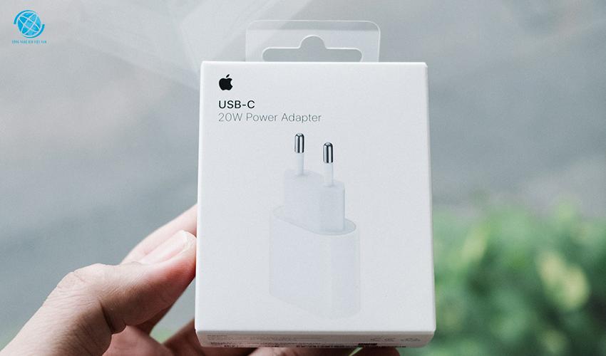 Đặc điểm nổi bật sạc nhanh 20W USB-C Apple