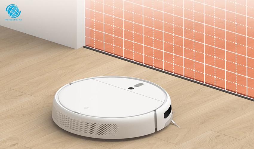 Robot hút bụi Mi robot vacuum mop tích hợp cảm biến thông minh