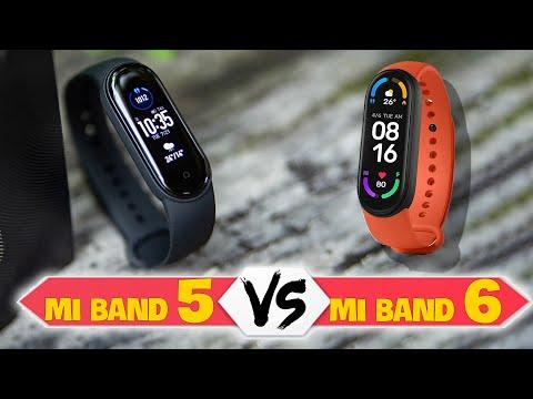 So sánh Xiaomi Mi Band 6 và Mi Band 5